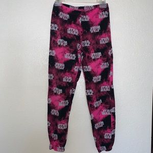 Star Wars pj bottoms size Small